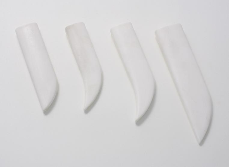 Plastinlägg för knivslida