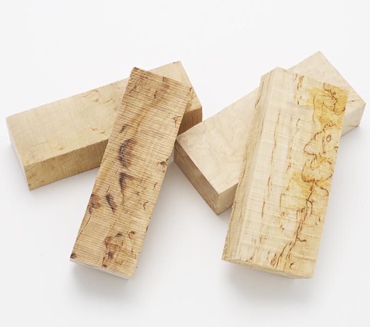 Trä och handtagsmaterial