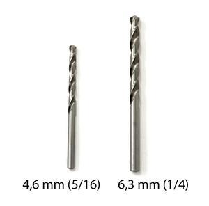 "Borr HSS, 6,3 mm (1/4"")"