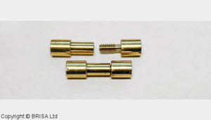 """Corby rivet brass  1/4"""", 1 pc"""
