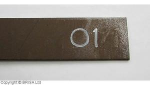 Plattstål O1 4x50x500 mm