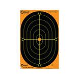 Caldwell måltavla Orange Peel 18″ Oval Target: 5 ark
