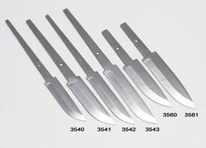 Knivblad rostfritt stål 85