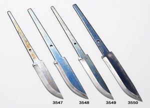 Knivblad kolstål 75