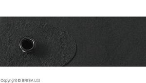 Kydex blackt 2 mm ( 0.080) 15x30 cm