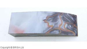 Acrylic Orange/Svart block