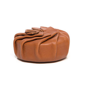 Coin pouch of reindeer leather