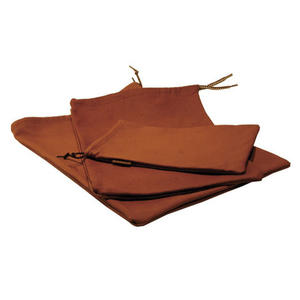 Reindeer leather storage bag 14 x 23 cm