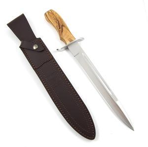 Joker 25,5 cm Avfångstkniv - Olivträ