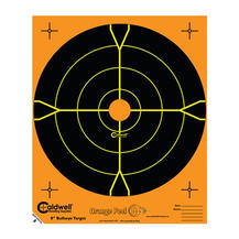 Caldwell måltavla Orange Peel 8″ bulls-eye: 5 ark