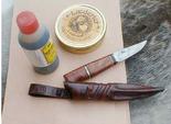 Halftanned leather/ 10 cm